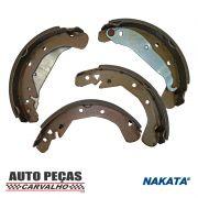 Sapatas de Freio (NAKATA) - Vectra - 1997 1998 1999 2000 2001 2002 2003 2004 2005 2006 2007 2008 2009 2010 2011 2012