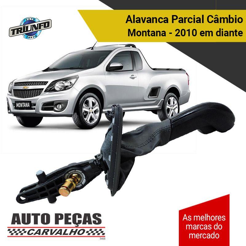 Alavanca Original Câmbio Parcial - Agile / Montana - 2010 2011 2012 2013 2014 2015 2016 2017 2018 2019 2020