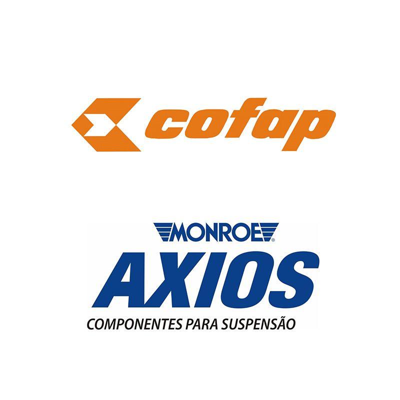 Amortecedores Dianteiro e Traseiro (COFAP) + Kit Batente - Honda Fit / City - 2009 2010 2011 2012 2013 2014