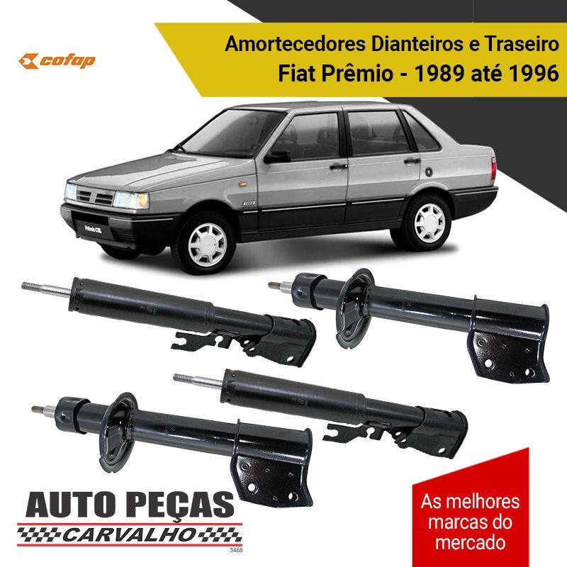 Amortecedor Dianteiro e Traseiro Fiat Prêmio 1989 1990 1991 1992 1993 1994 1995