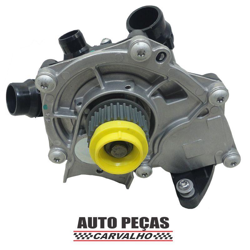 Bomba Água com Carcaça (STARKE) - Audi A4 2.0 TFSI - 2013 2014 2015 (SOMENTE COM MOTOR CNCD)