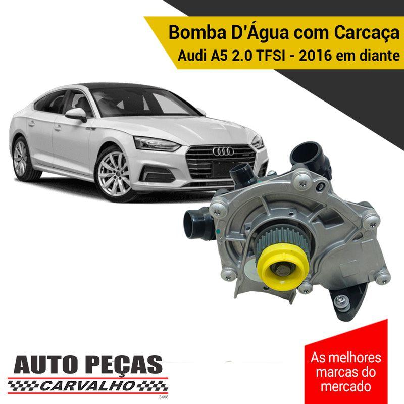 Bomba Água com Carcaça (STARKE) - Audi A5 2.0 TFSI - 2016 2017 2018 2019 2020 (CVKB / CYRC / CYRB / DDWA / CYMC)