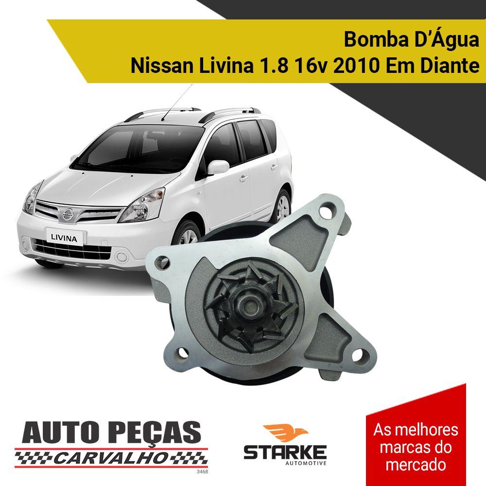 Bomba Água - Nissan Tiida / Sentra 1.8 16v - 2007 até 2018