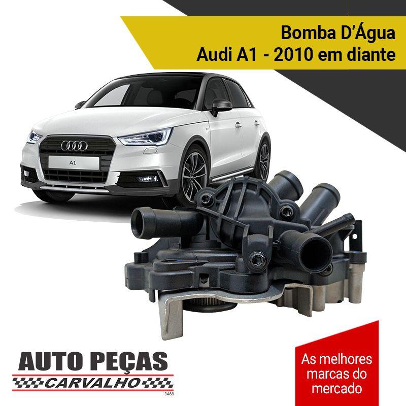 Bomba d'Água com Carcaça Up / Golf / Jetta / Tiguan / Audi A1 / A3 - 2014 em diante