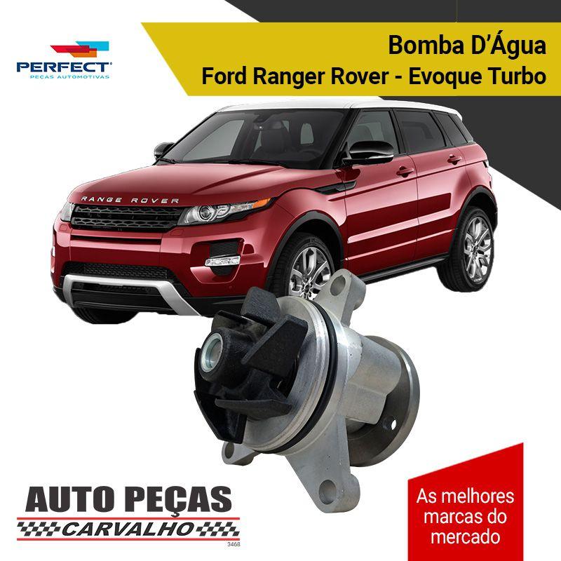 Bomba d'Água (PERFECT) Ford Fusion 2.3 / Focus 2.0 / Ecosport 2.0 / Mondeo 2.0 / Ranger 2.0 - Todas 16 válvulas