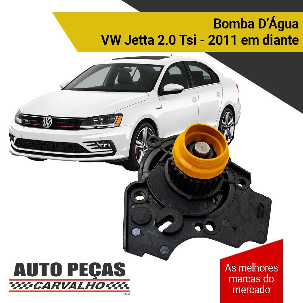 Bomba de Água Jetta 2.0 Tsi 2011 2012 2013 2014 2015 2016 2017 2018 2019