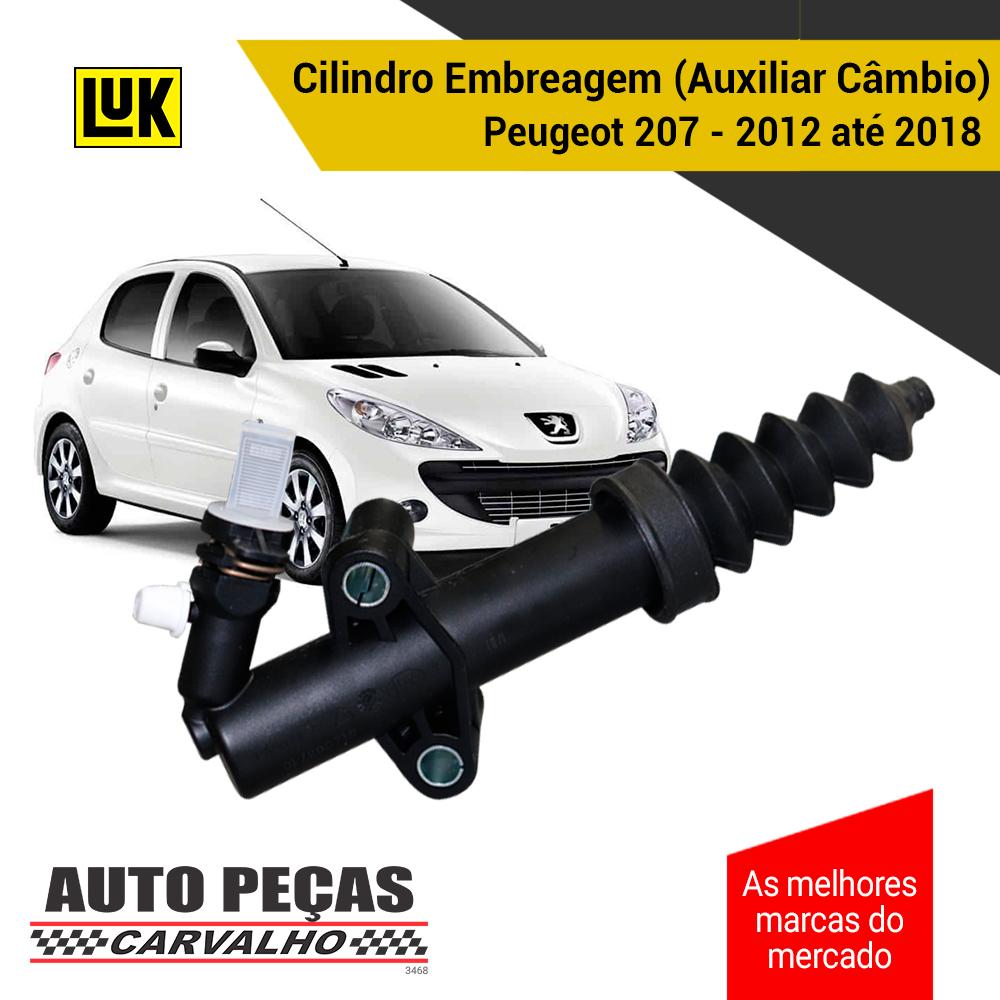 Cilindro Embreagem (Auxiliar do Câmbio) Citroen C3 / Picasso / Aircross 2012 em diante - TODOS
