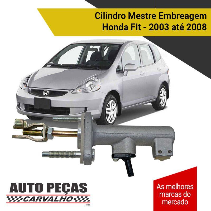Cilindro Mestre de Embreagem - Honda Fit - 2003 2004 2005 2006 2007 2008