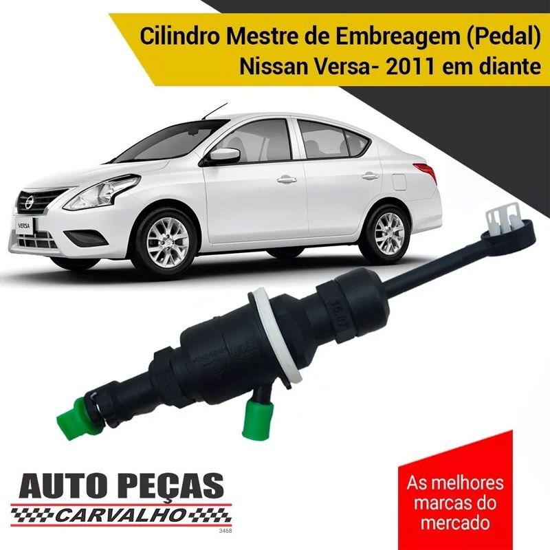 Cilindro Mestre de Embreagem (MARCAPE) - Nissan Versa / March - 2011 2012 2013 2014 2015 2016 2017 2018 2019