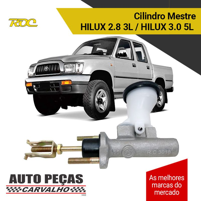 Cilindro Mestre Embreagem - Hilux 2.8 - 1997 1998 1999 2000 2001