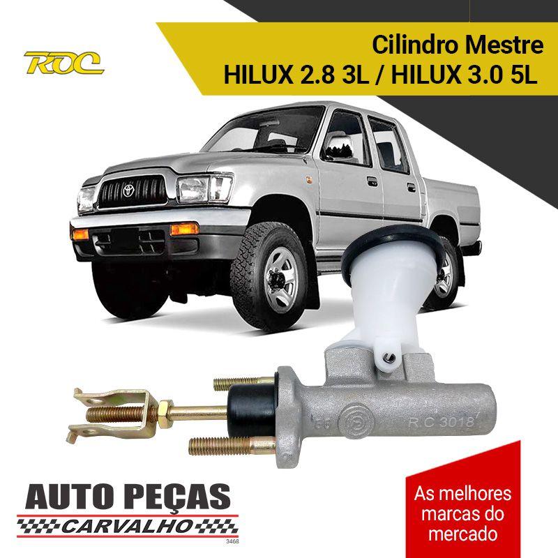 Cilindro Mestre Embreagem - Hilux 3.0 5L - 2001 2002 2003 2004