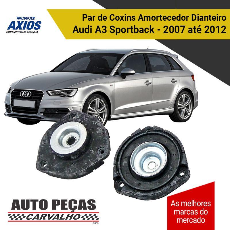 Coxim do Amortecedor Dianteiro AXIOS  Audi A3  2007 2008 2009 2010 2011 2012