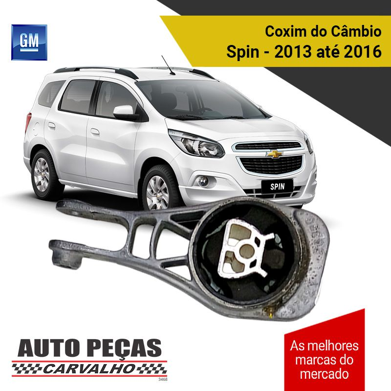 Coxim do Câmbio (GM) - Spin 1.0 / 1.4 / 1.8 - 2013 2014 2015 2016