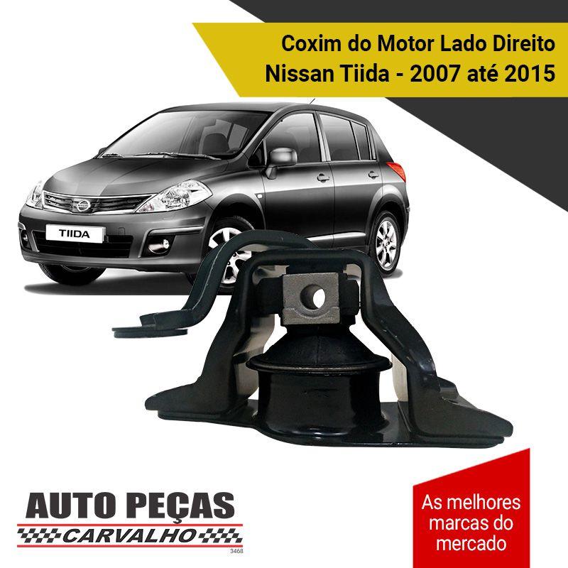Coxim do Motor Lado Direito Hidráulico Tiida / Livina - 2007 2008 2009 2010 2011 2012 2013 2014 2015