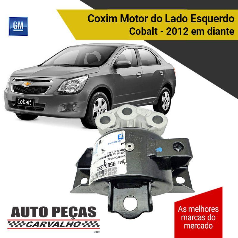 Coxim do Motor Lado Esquerdo (GM) - Cobalt 1.0 / 1.4 / 1.8 - 2012 2013 2014 2015 2016 2017 2018 2019