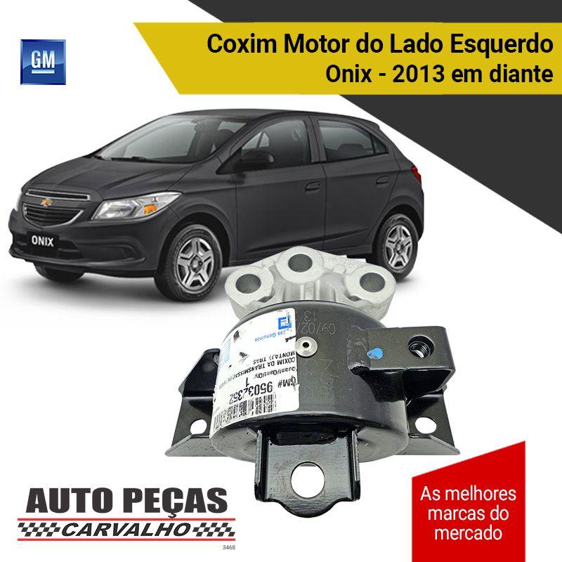 Coxim do Motor Lado Esquerdo Onix 1.0 / 1.4 / 1.8 2013 2014 2015 2016 2017 2018 2019