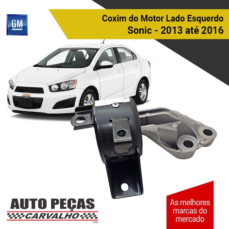 Coxim do Motor Lado Esquerdo Sonic 1.0 / 1.4 / 1.8  2013 2014 2015 2016