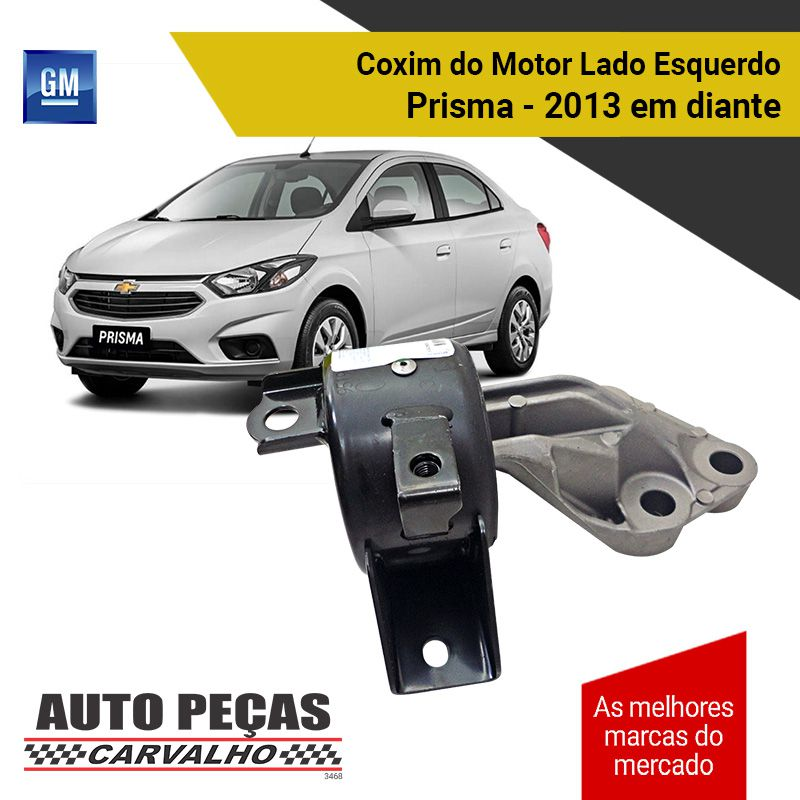 Coxim do Motor Lado Esquerdo (GM) - Novo Prisma 1.0 / 1.4 / 1.8 - 2013 2014 2015 2016 2017 2018 2019
