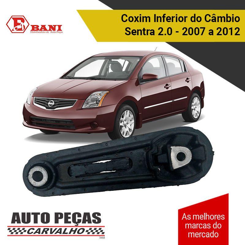 Coxim Inferior do Câmbio Sentra 2.0 2007 2008 2009 2010 2011 2012