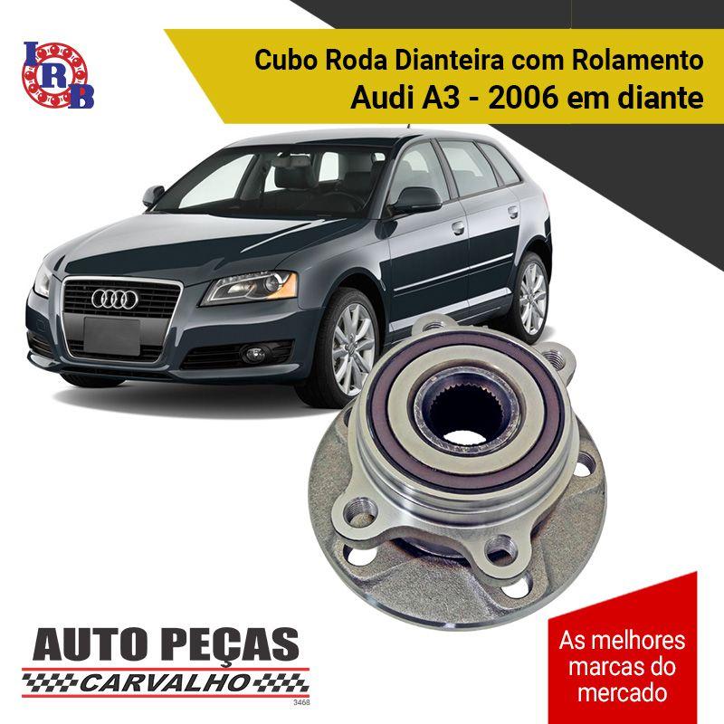 Cubo de Roda Dianteira com Rolamento e ABS (IRB) - Audi A3 / Eos / Golf / Jetta / New Fusca / Passat / Tiguan