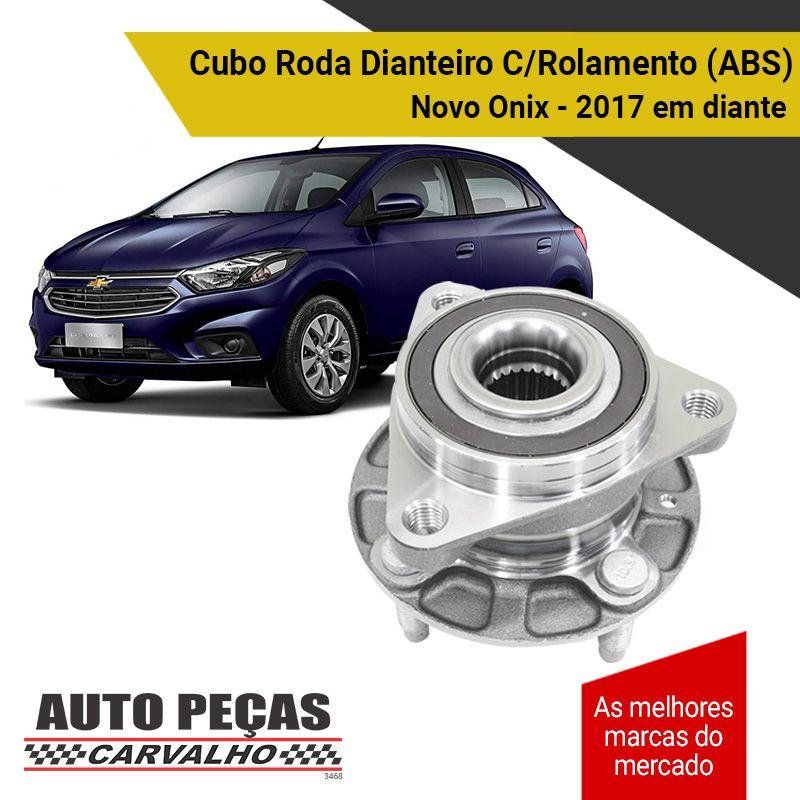 Cubo de Roda Traseira com Rolamento e ABS (IRB) - Chevrolet Onix - 2017 2018 2019 2020
