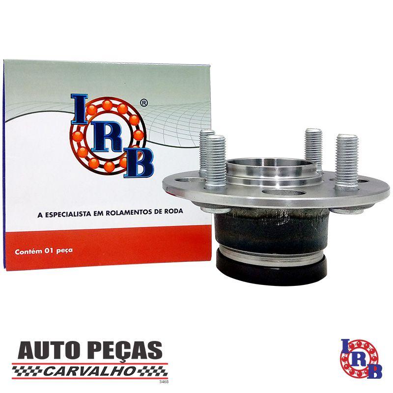 Cubo de Roda Traseira com Rolamento e ABS Honda Fit 1.4 8v / 1.5 16v - 2002 2003 2004 2005 2006 2007 2008