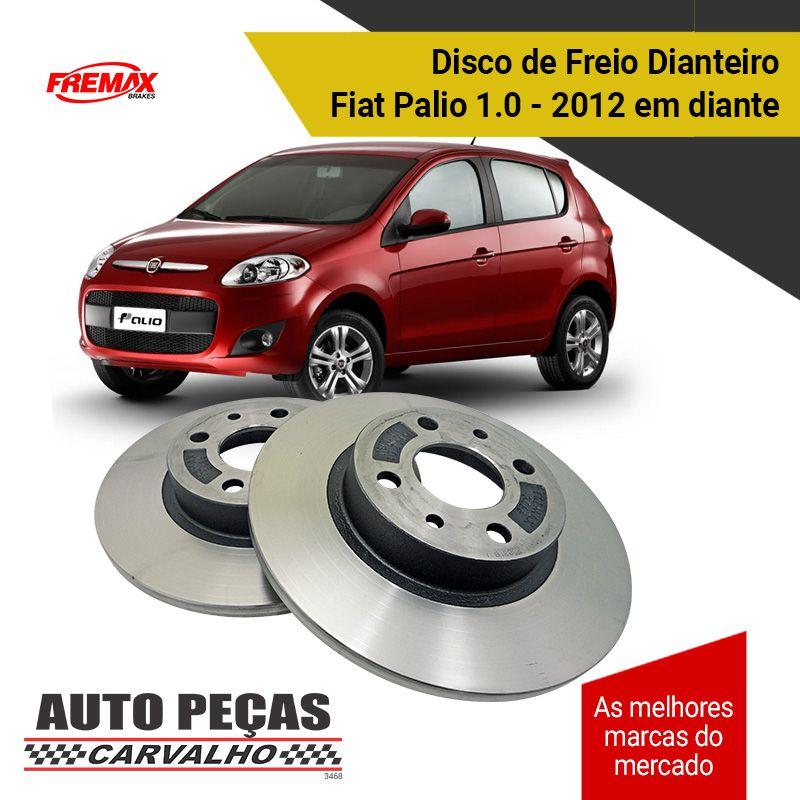 Disco de Freio Dianteiro Grand Siena / Palio / Uno 1.4 - 2012 em diante