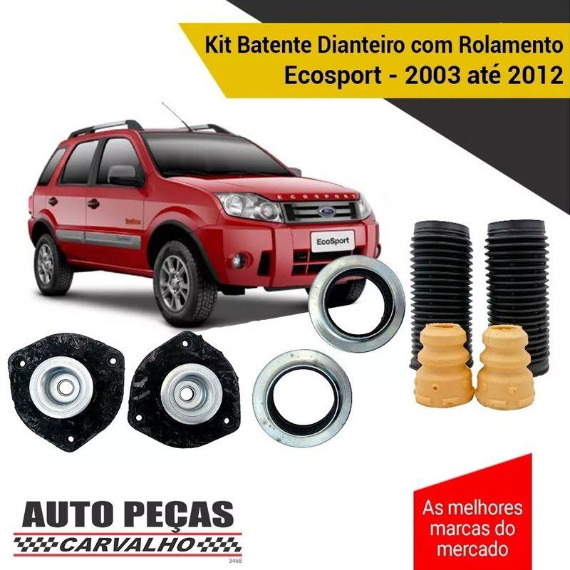 Kit Batente Dianteiro com Rolamento Ecosport 2003 2004 2005 2006 2007 2008 2009 2010 2011 2012