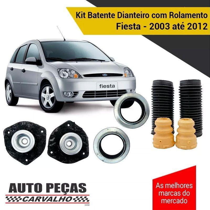 Kit Batente Dianteiro com Rolamento Fiesta 2003 2004 2005 2006 2007 2008 2009 2010 2011 2012