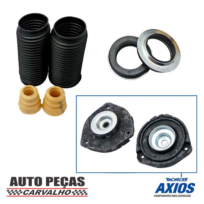 Kit de Batente Amortecedor Dianteiro com Coxim Axios - Fox / Polo / Spacefox / Polo Sedan