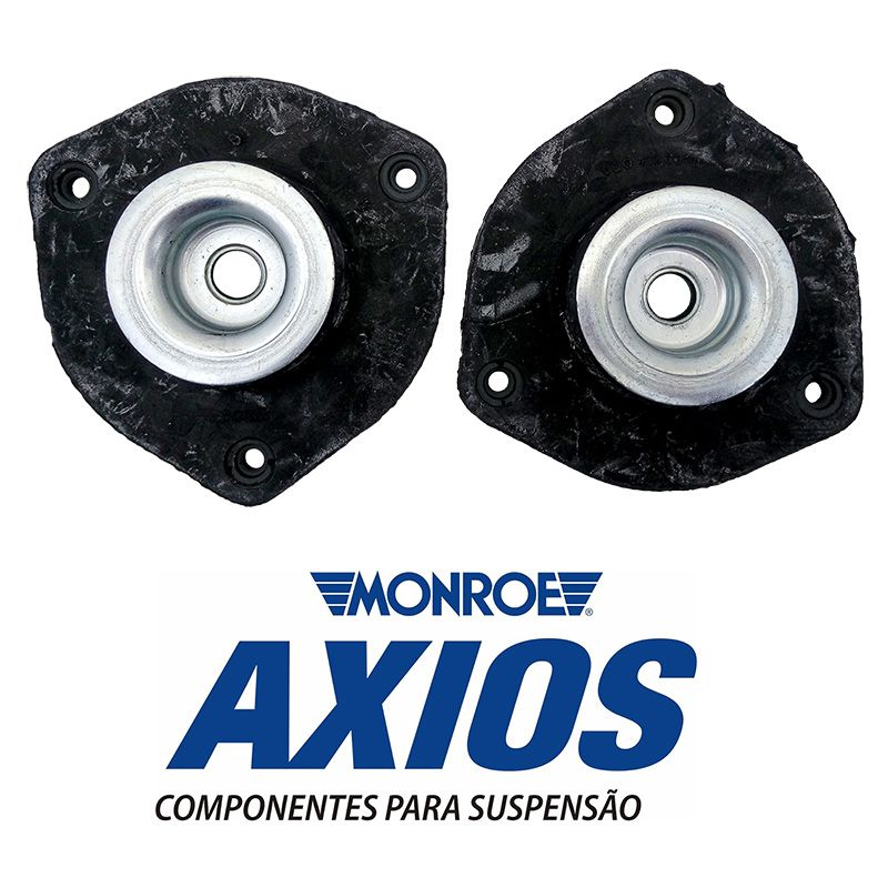 Kit de Batente Amortecedor Dianteiro com Coxim Fox / Polo / Spacefox / Polo Sedan