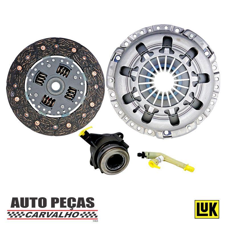 Kit de Embreagem + Atuador (LUK) - Fiat Palio 1.8 8v - 2003 2004 2005 2006 2007 2008 2009 2010
