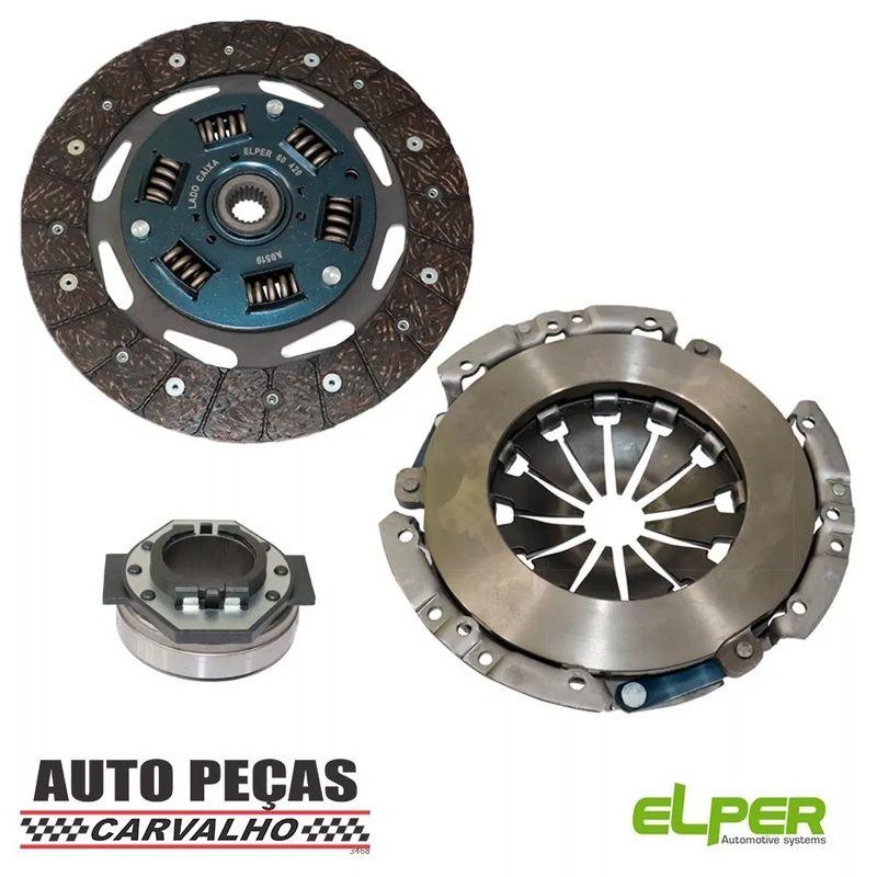 Kit de Embreagem com Rolamento (ELPER) - Fiat 500 1.4 16v - 2012 2013 2014 2015 2016 2017 2018 2019