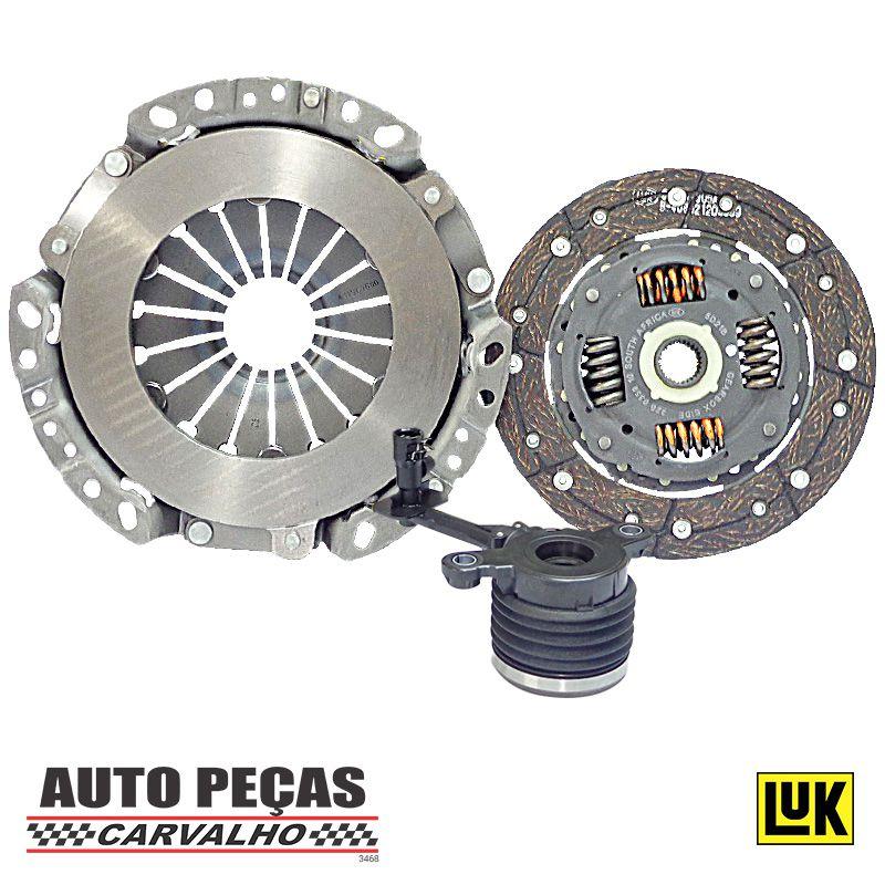 Kit de Embreagem (LUK) e Atuador (ROC) - Renault Megane / Duster / Nissan Livina