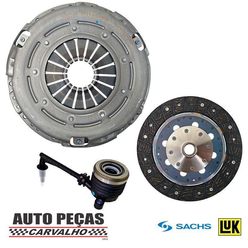 Kit de Embreagem (SACHS) com Atuador (LUK) - Nissan Livina 1.8 - 2009 2010 2011 2012 2013 2014 2015 2016 2017 2018 2019