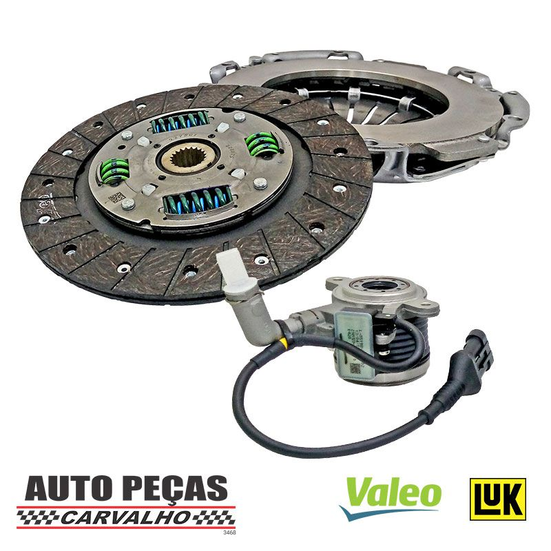 Kit de Embreagem (Valeo) + Atuador (LUK) - Jeep Renegade 1.8 16v Flex - 2012 2013 2014 2015 2016 2017 2018 2019