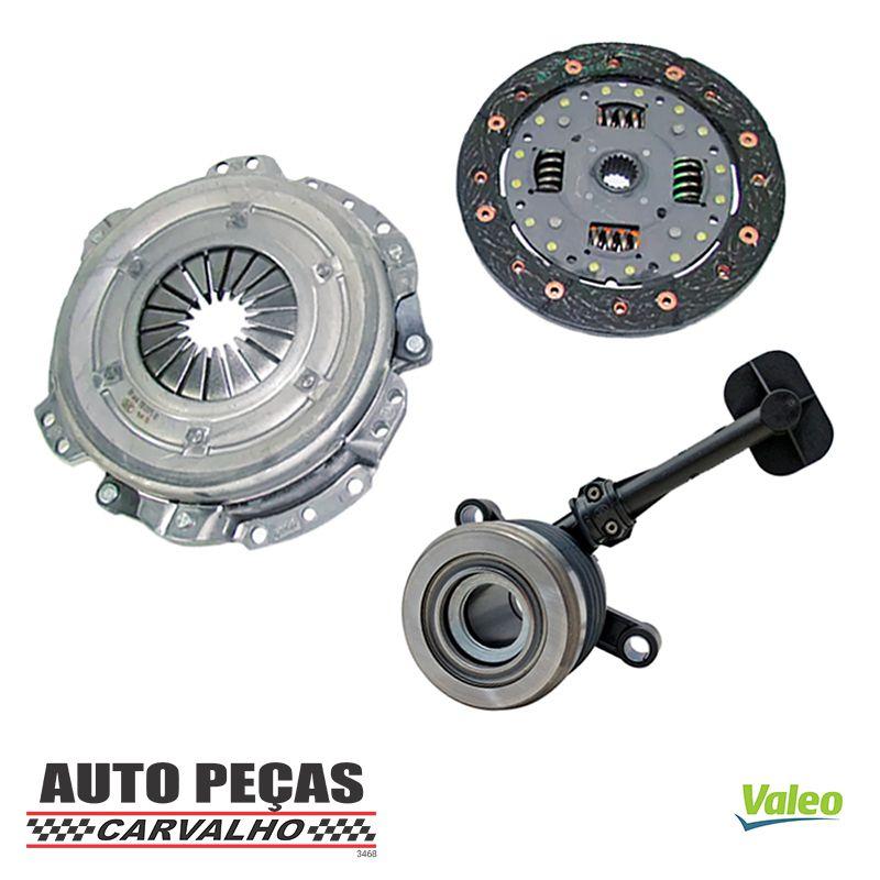 Kit de Embreagem (VALEO) + Atuador - Nissan March 1.6 16v - 2012 2013 2014 2015 2016 2017 2018 2019 2020