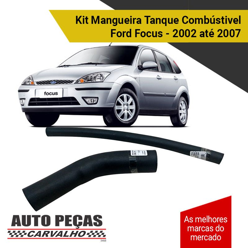 Kit de Mangueira Tanque Combustível Ford Focus - 2002 até 2007