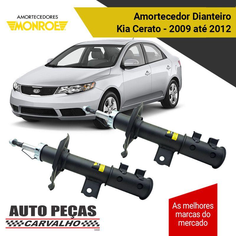 Par de Amortecedor Dianteiro MONROE - Hyundai i30 2009 até 2012 / Kia Cerato 2010 até 2012