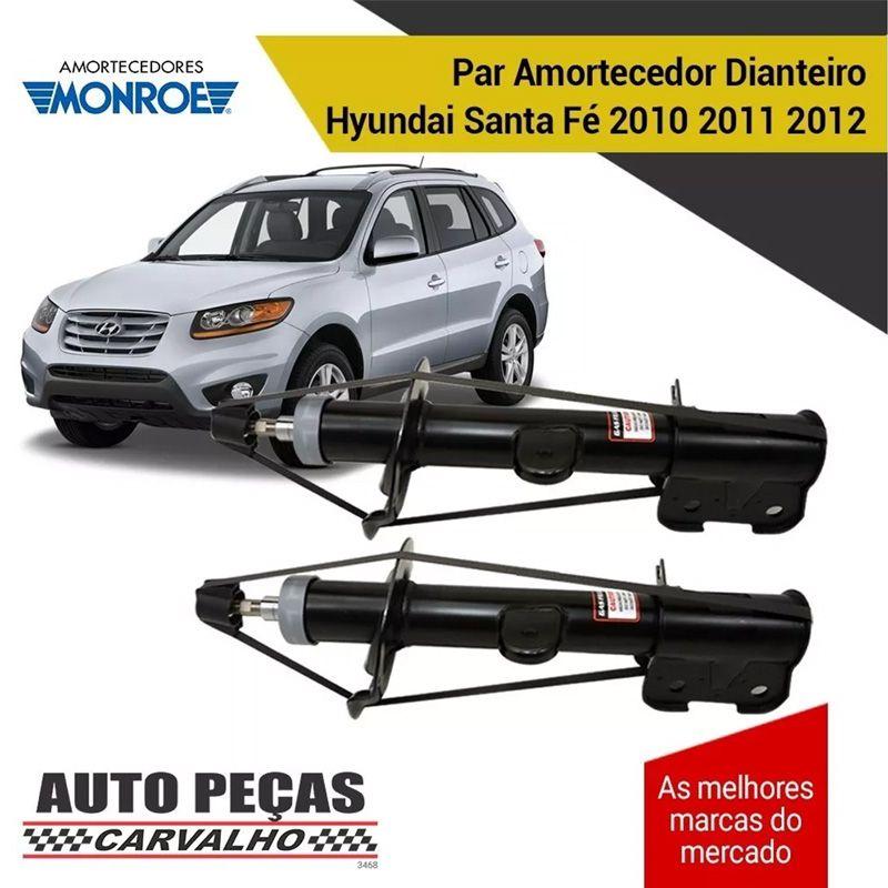 Par de Amortecedor Dianteiro (MONROE) - Hyundai Santa Fé - 2010 2011 2012