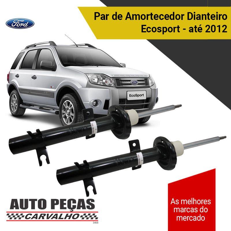 Par de Amortecedores Dianteiro (FORD) - Ford Ecosport - 2003 2004 2005 2006 2007 2008 2009 2010 2011 2012