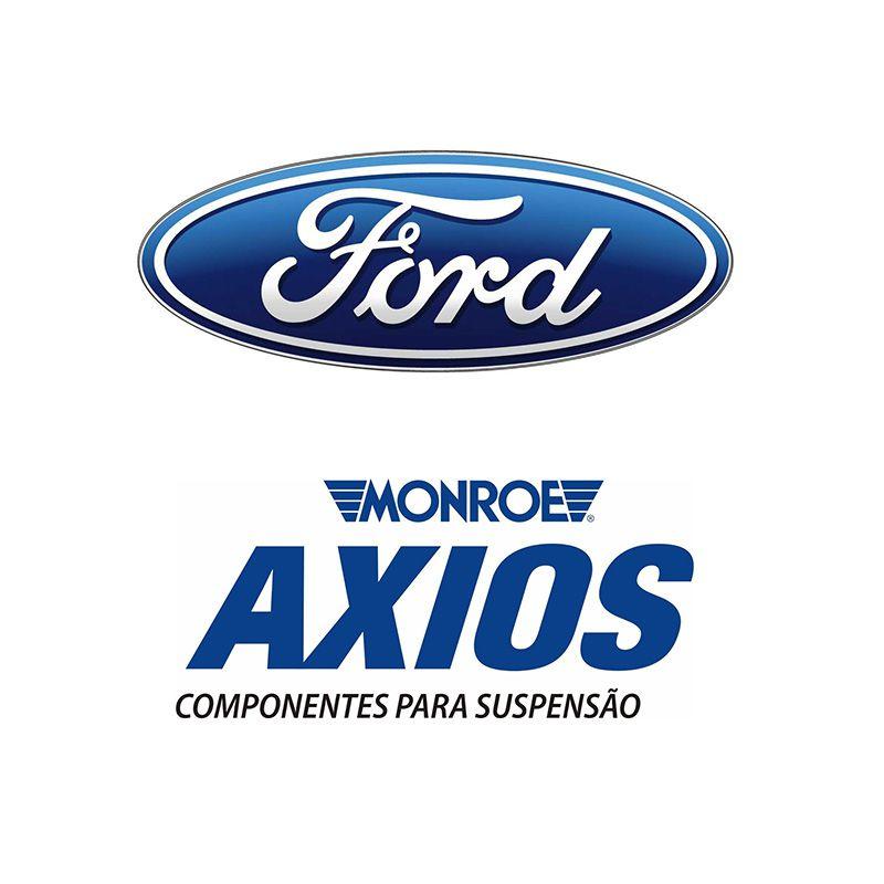 Par de Amortecedores Dianteiro (FORD) + Kit Batente Ecosport - 2003 2004 2005 2006 2007 2008 2009 2010 2011 2012