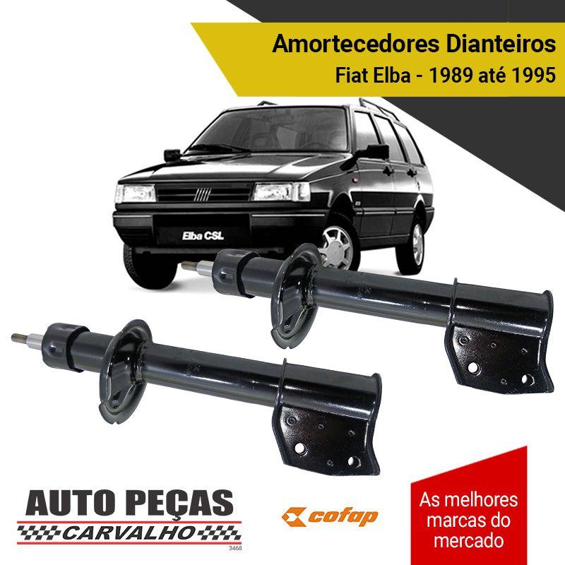 Par de Amortecedores Dianteiros (COFAP) - Fiat Elba - 1989 1990 1991 1992 1993 1994 1995 1996
