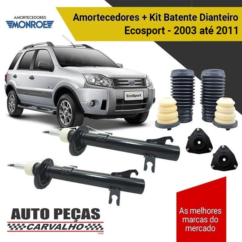 Par de Amortecedores Dianteiros + Kit Batente - Ford Ecosport 4x4