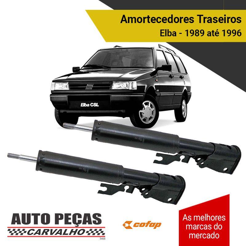 Par de Amortecedores Traseiros (COFAP) - Fiat Elba - 1989 1990 1991 1992 1993 1994 1995 1996