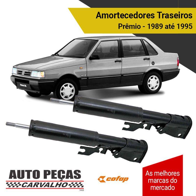 Par de Amortecedores Traseiros (COFAP) - Fiat Prêmio - 1989 1990 1991 1992 1993 1994 1995