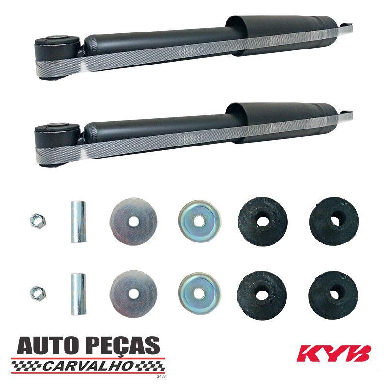Par de Amortecedores Traseiros (KAYABA) - Honda Fit - 2003 até 2008 (todos os modelos)