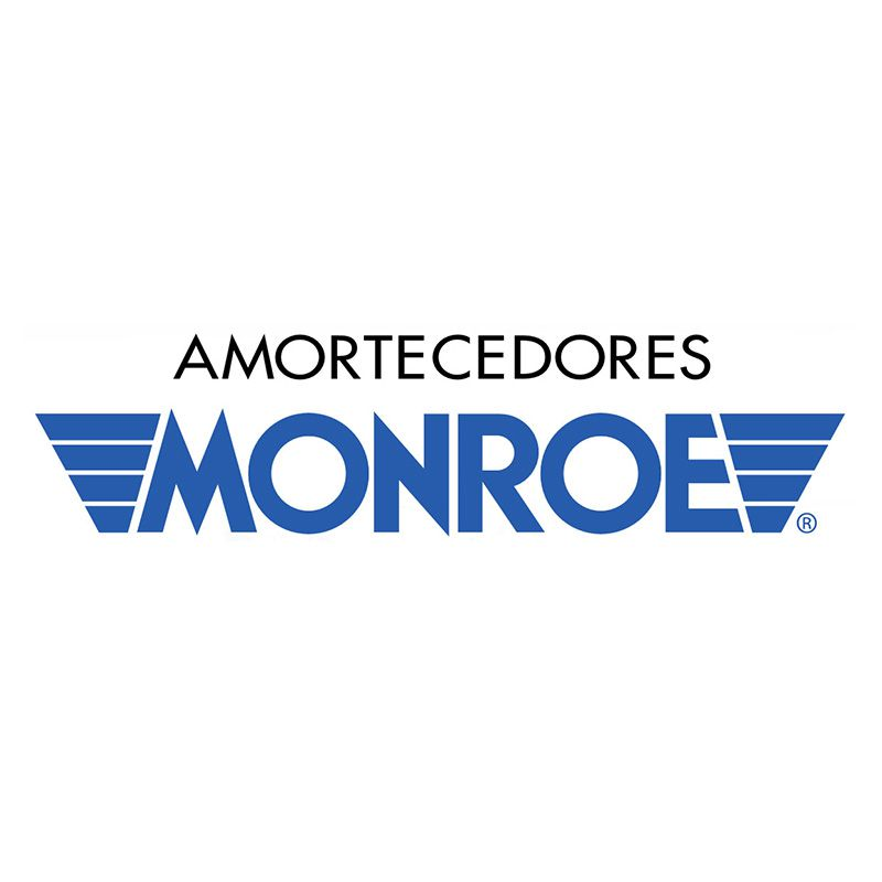 Par de Amortecedores Traseiros (MONROE) + Kit Batente (V8) Ecosport - 2003 até 2012