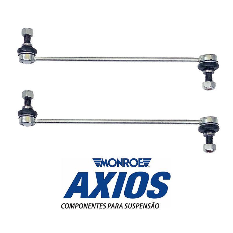 Par de Bieletas (AXIOS) + Buchas Barra Estabilizadora - Honda City - 2009 2010 2011 2012 2013 2014