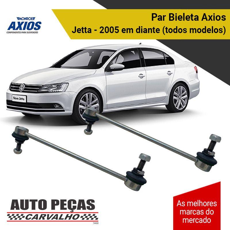 Par de Bieletas (AXIOS) - Volkswagen Jetta - 2005 2006 2007 2008 2009 2010 2011 2012 2013 2014 2015 2016 2017 2018 2019 2020